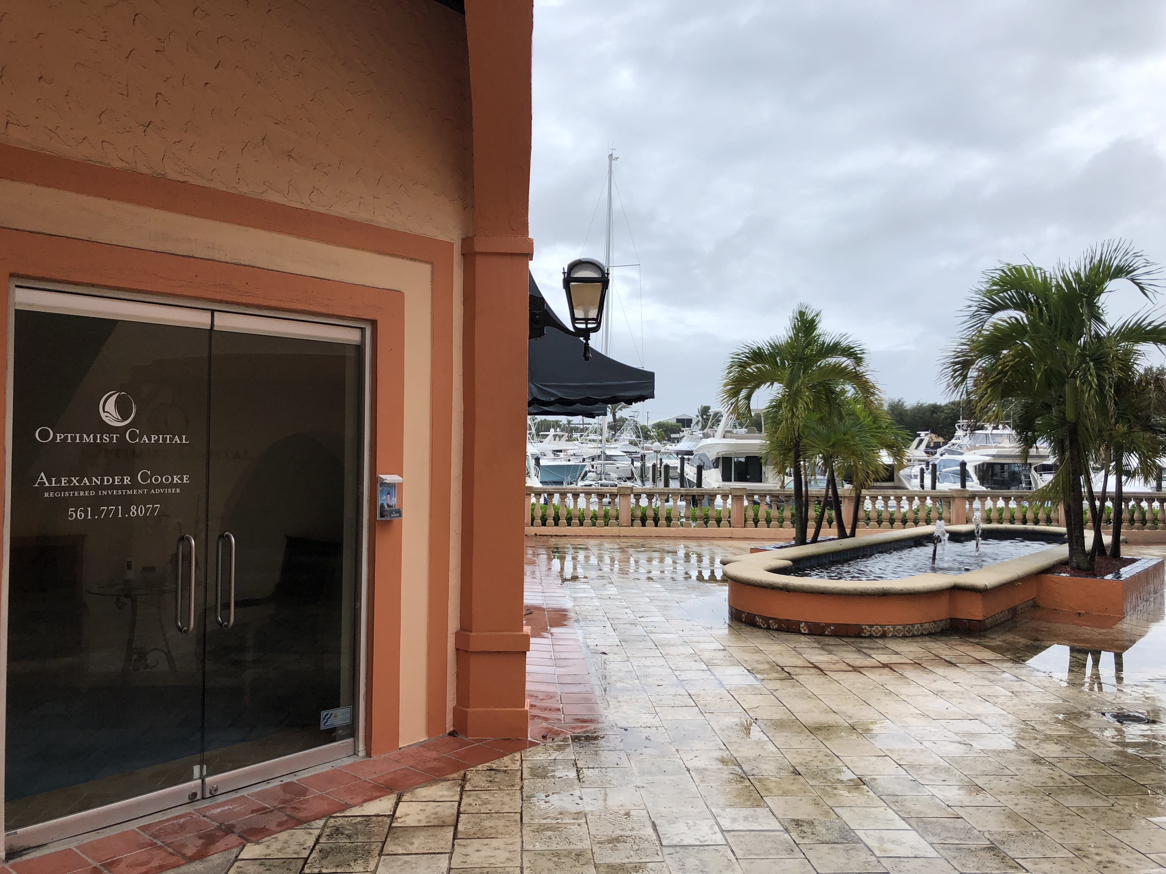Optimist Capital, Hurricane Dorian